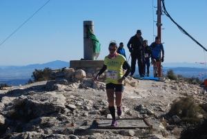 Alicia Hernández, la ganadora a su paso por la cumbre